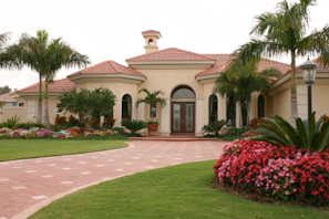 tampa house landscape